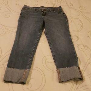 Old Navy Cuffed Boyfriend Jeans